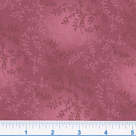 Tonal Vineyard Extra wide backing fabric Raspberry 1506