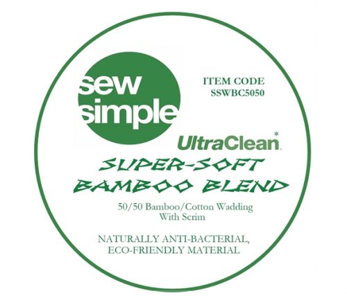 Sew Simple Bamboo Blend extra wide wadding
