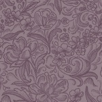 Purple Extra wide quilt backing fabric 108 inch wide floral Calla design