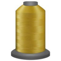 Cornflower Yellow Polyester thread Glide No 40 Trilobal 1000m cone