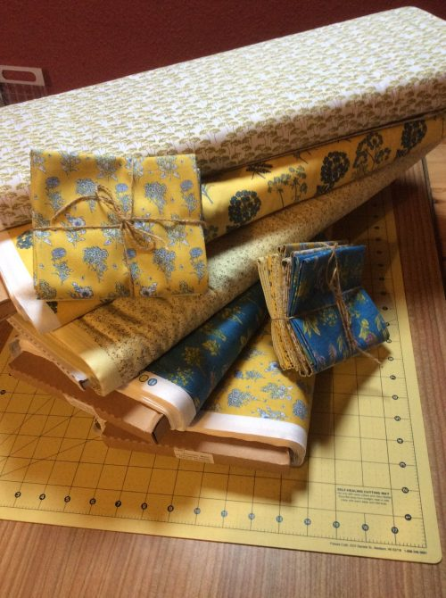 Fat Quarter bundle based on Inprint Jane Makower Chelsea range