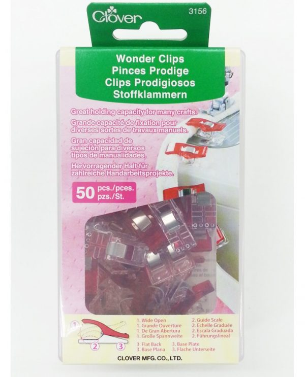 CLOVER_CL-3156_Wonder_Clips__50_pcs
