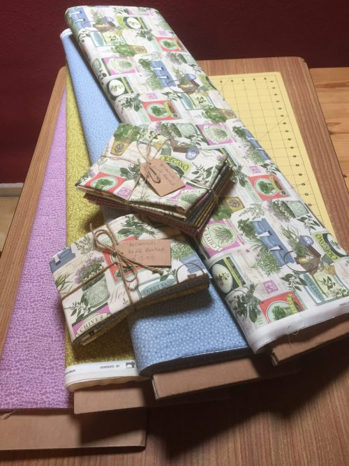 Fat Quarter Bundle based on Botanical by Indigo Fabrics