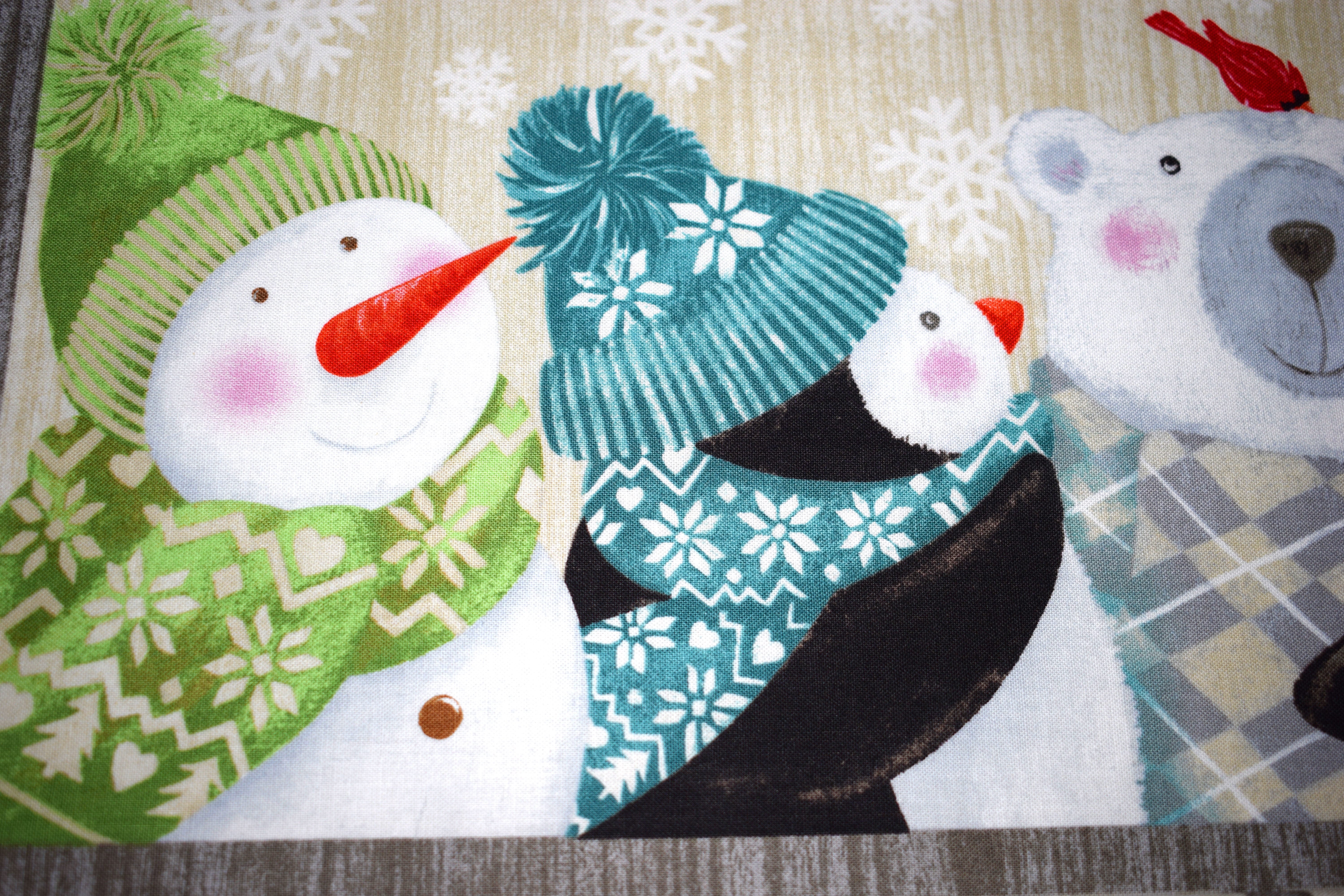 Christmas fabrics and Panels