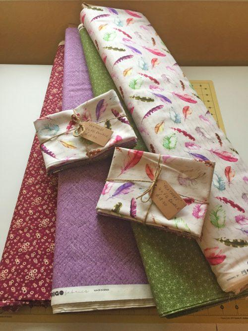 Feathers Fat Quarter Bundle by Indigo Fabrics