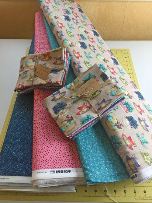 Tea time Fat Quarter Bundle by Indigo Fabrics