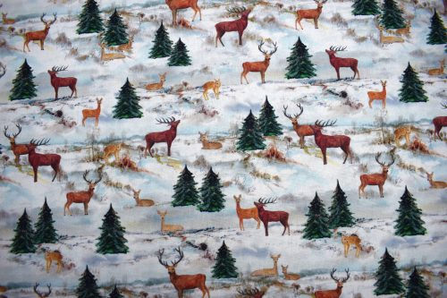 Stag Fabric hiver by Indigo Fabrics of Spain
