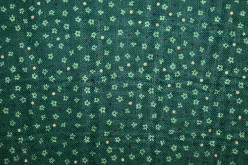 Boby quilting fabric By Indigo Fabrics of Spain Bottle Green floral fabric