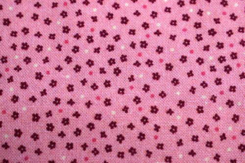 Boby quilting fabric By Indigo Fabrics of Spain pale salmon pink floral fabric