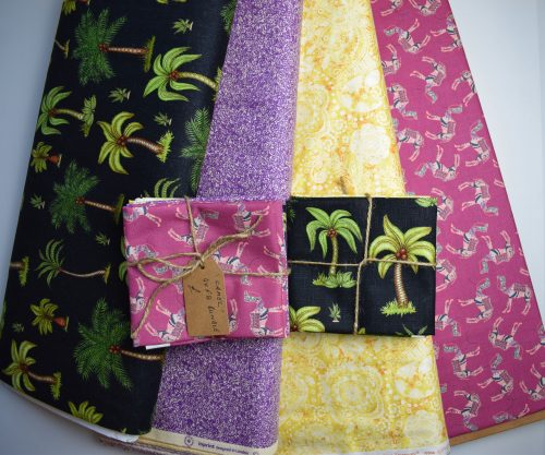 Exotic mixed designer fat quarter bundle