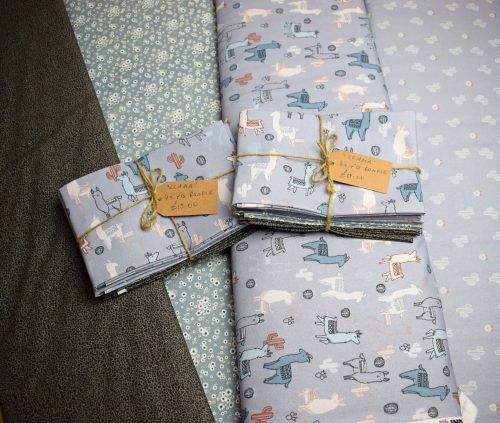 Llama Fat Quarter Bundle by Indigo Fabrics