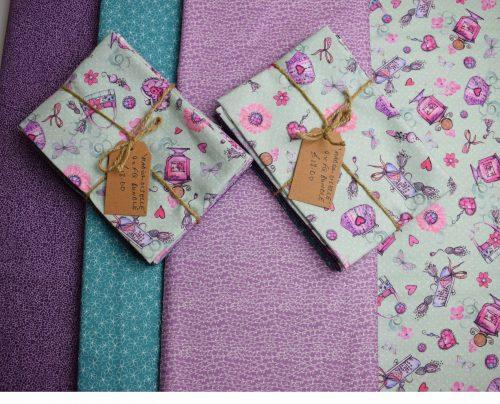 Mademoiselle Fat Quarter Bundle by Indigo Fabrics