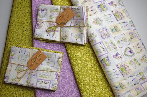 Lavande Fat Quarter Bundle by Indigo Fabrics
