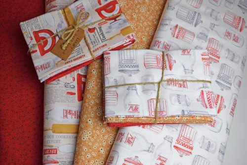 Bakery Fat Quarter Bundle by Indigo Fabrics