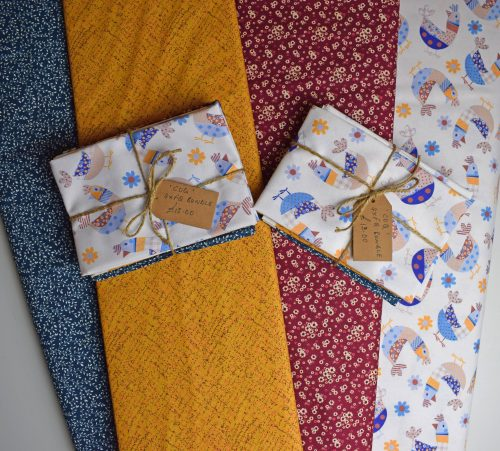 Coq Fat Quarter Bundle by Indigo Fabrics