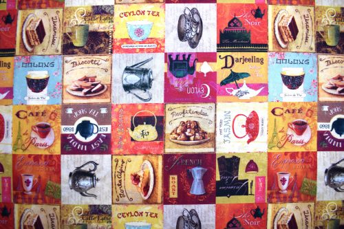 Tea and Coffee by Indigo Fabrics of Spain