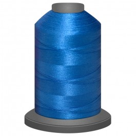 Air Force Blue Polyester thread Glide No 40 Trilobal 1000m cone