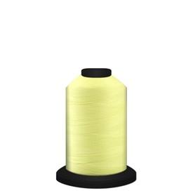 Yellow Glow in the dark Glide Luminary thread 700 yard mini cone