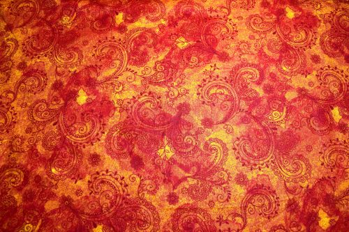 Burnt Orange extra wide quilt backing fabric Avalon by Quilting Treasures