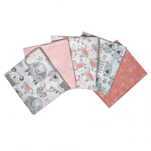 Babylicious Fat Quarter Bundle in Pink
