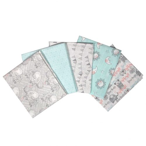 Babylicious Fat Quarter Bundle in Blue