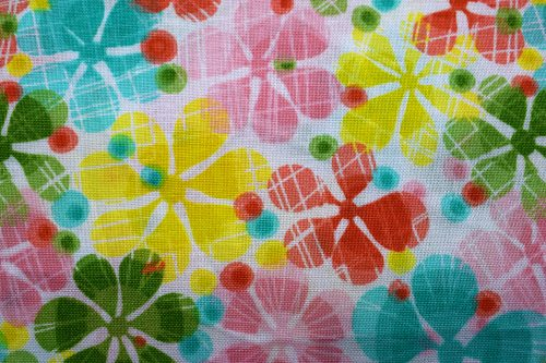 Large floral Quilting Fabric