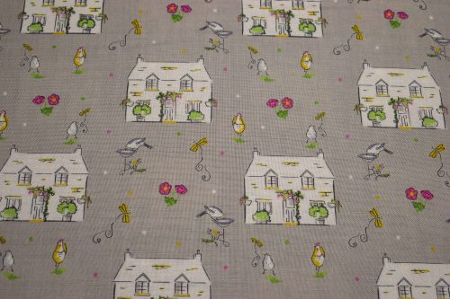 A Country Cottage Quilting fabric by Debbie Shore