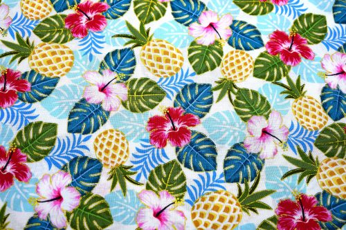 Pineapple Quilting Fabric by Anna Bella